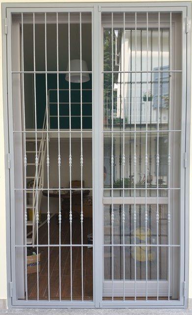 Inferriate di sicurezza rema fabbro muggi monza brianza - Cancelli di sicurezza per porte finestre ...